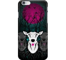 Roots To Grow and Wings To Fly (Three Deer Twilight) iPhone Case/Skin