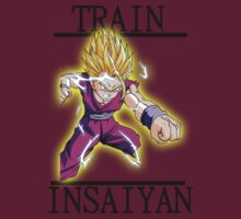 Dragon Ball Z - Train Insaiyan  by YounesChergui