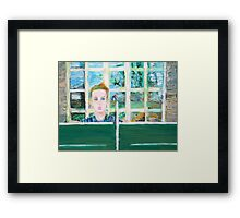 THE PING-PONG THEORY Framed Print
