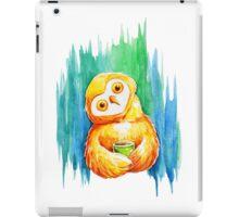 Drawing cute owl iPad Case/Skin