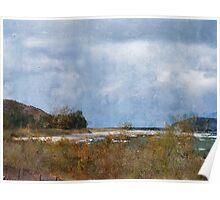 Lake Michigan Autumn Poster