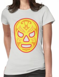 Luchador - Santo Fuego Womens Fitted T-Shirt