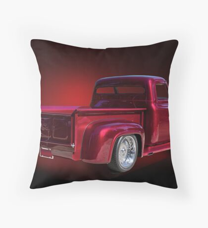 1953 Ford 'Fine Wine' Custom Pick-Up Throw Pillow