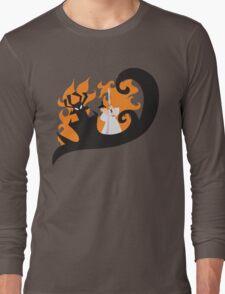 Samurai Jack and Aku Long Sleeve T-Shirt
