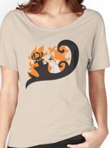 Samurai Jack and Aku Women's Relaxed Fit T-Shirt
