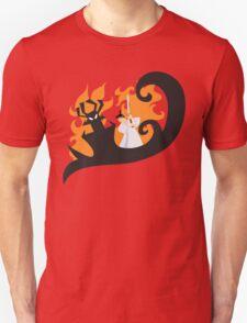 Samurai Jack and Aku Unisex T-Shirt