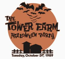 The Tower Farm Halloween Party 1989 by Michael Andrew