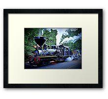 Yosemite Choo Choo Framed Print