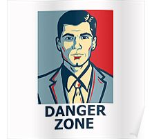 Archer - Sterling Archer - Danger zone Poster