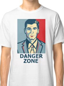 Archer - Sterling Archer - Danger zone Classic T-Shirt