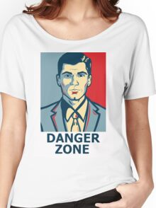 Archer - Sterling Archer - Danger zone Women's Relaxed Fit T-Shirt