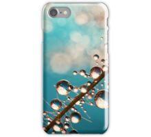 Heavenly Blue Smoke Drops iPhone Case/Skin