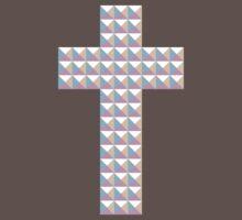 Prismatic Cross by sparksandburns