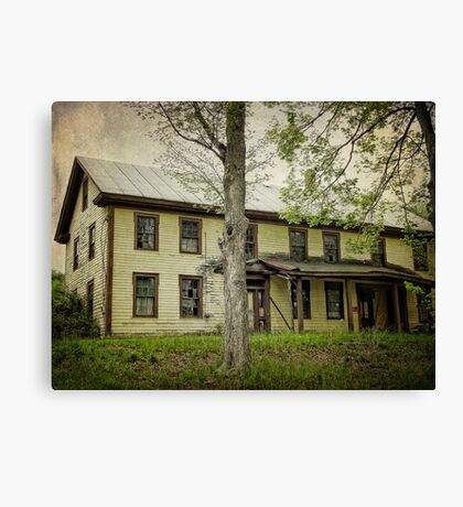 History here Canvas Print