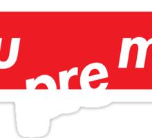 Sue Me - Supreme OG Sticker