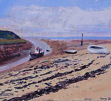 Uphill Beach. by Antony R James