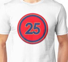 #25 - Jean-Eric Vergne (Scuderia Toro Rosso) Unisex T-Shirt