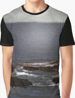 Silvered Sea Graphic T-Shirt