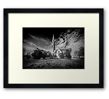 South Dalton Church Framed Print