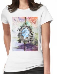 NATURE ANIMALS  Womens Fitted T-Shirt