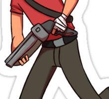 RED scout Sticker