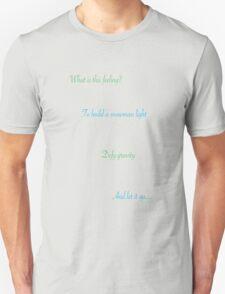 defying gravity and snowmen Unisex T-Shirt
