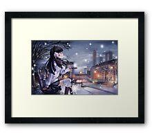 Kuroneko  Framed Print