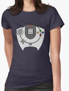 SEGA HAPPY DREAMCAST Womens Fitted T-Shirt