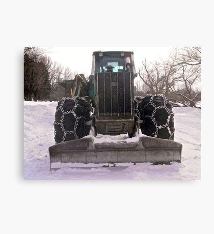Heavy equipment Canvas Print