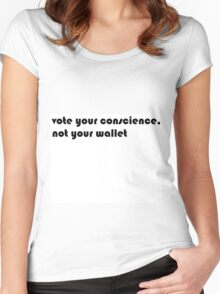 Vote Women's Fitted Scoop T-Shirt