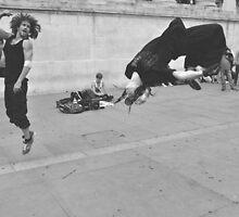 Meanwhile in Trafalgar Square... by Darren Johnson / iDJ Photography