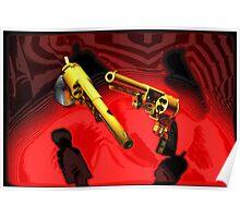 Colt Walker - Pop Art Guns Poster