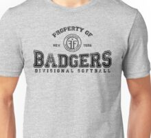 Property of New York Badgers Fringe Divisional Softball Unisex T-Shirt