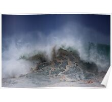 Winter Waves At Pipeline 5 Poster