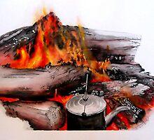 Campfire Days by sooziii
