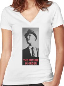 The Future in Order fringe tribute Women's Fitted V-Neck T-Shirt