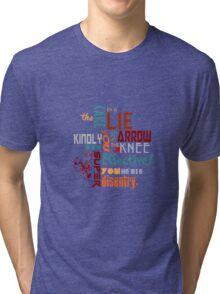 Nerd Shirt Tri-blend T-Shirt