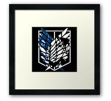 Eren Jaeger Scouting Legion (Attack On Titan) Framed Print