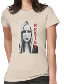 Resist fringe tribute Womens Fitted T-Shirt