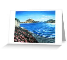 Lake Coleridge, New Zealand Greeting Card