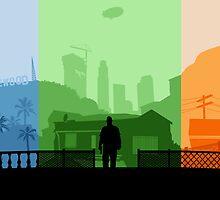 Grand Theft Auto: Trio by mcsjackson