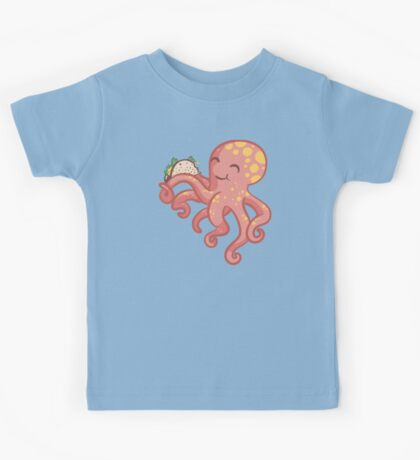 Tako-Taco cute octopus Kids Tee
