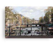 Bikes, bikes and more bikes Canvas Print