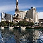 Reflecting on Paris Las Vegas by Georgia Mizuleva