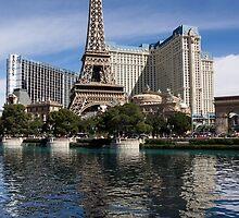 Reflecting on Paris Las Vegas by Georgia Mizuleva