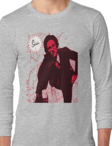 Mike Strutter red  Long Sleeve T-Shirt