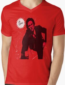 Mike Strutter red  Mens V-Neck T-Shirt