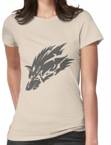 Twilight Princess - Wolf Womens Fitted T-Shirt
