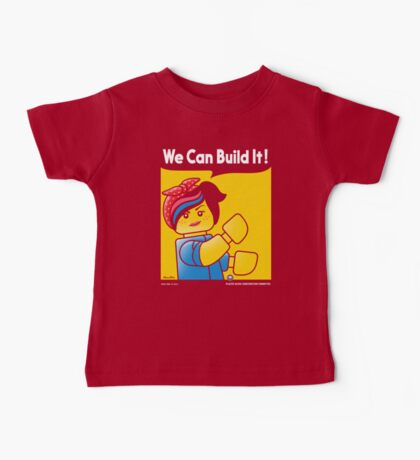 WE CAN BUILD IT! Baby Tee