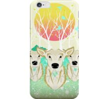 Roots To Grow and Wings To Fly (Three Deer New Dawn) iPhone Case/Skin